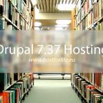 Drupal 7 37 hosting