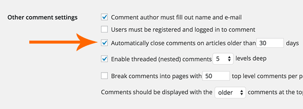 How to Block Comments SPAM on WordPress Site2